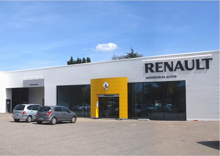 Renault – « Reconstruction après incendie » gallery