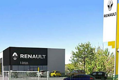 NOUVEAU : concessions RENAULT (13) - PC en cours 2021